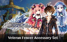 Fairy Fencer F ADF Veteran Fencer Accessory Set Badge