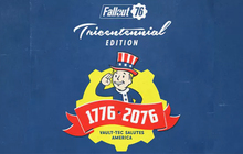 Fallout 76 Tricentennial Edition Badge