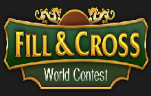 Fill and Cross World Contest Badge