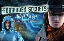 Forbidden Secrets: Alien Town Collector's Edition Badge