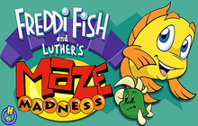 Freddi Fish and Luther's Maze Madness Badge