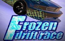 Frozen Drift Race Badge
