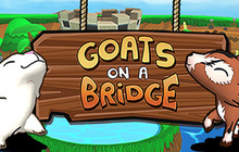 Goats On A Bridge Badge