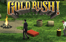 Gold Rush! Anniversary Badge
