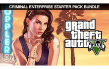Grand Theft Auto V and Criminal Enterprise Starter Pack Bundle Badge