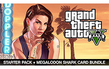 Grand Theft Auto V, Criminal Enterprise Starter Pack and Megalodon Shark Card Bundle Badge