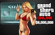 Grand Theft Auto V & Megalodon Shark Cash Card Badge