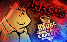 Hector: Badge of Carnage Full Series Badge