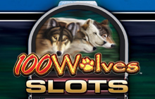 IGT Slots 100 Wolves Badge