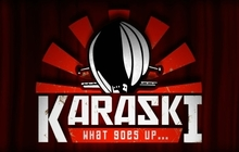 Karaski: What Goes Up... Badge