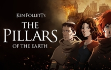 Ken Follett's The Pillars of the Earth Badge