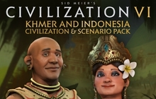 Sid Meier's Civilization® VI - Khmer and Indonesia Civilization & Scenario Pack Badge