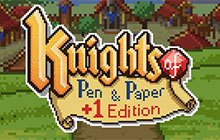 Knights of Pen and Paper +1 Edition Badge