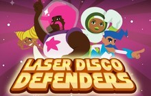 Laser Disco Defenders Badge