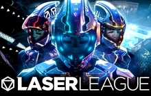 Laser League Badge