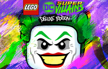 LEGO DC Super-Villains Deluxe Edition Badge