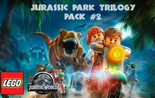 LEGO Jurassic World: Jurassic Park Trilogy DLC Pack 2 Badge