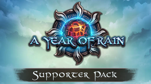 A Year of Rain - Supporter Pack