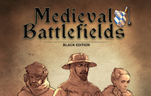 Medieval Battlefields - Black Edition Badge