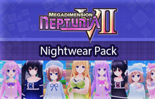 Megadimension Neptunia VII Nightwear Pack Badge