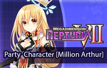 Megadimension Neptunia VII Party Character [Million Arthur] Badge