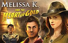 Melissa K. and the Heart of Gold Collector's Edition Badge