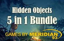 Meridian'93 Hidden Objects 5 in 1 Bundle Badge