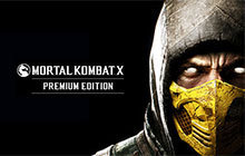 Mortal Kombat X Premium Edition Badge
