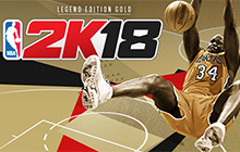 NBA 2K18 Legend Edition Gold Badge