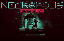 NECROPOLIS: BRUTAL EDITION Badge