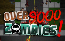 Over 9000 Zombies Badge