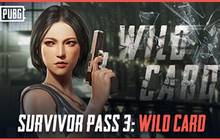 PUBG - Survivor Pass 3: Wild Card Badge