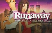 Runaway, A Road Adventure Badge
