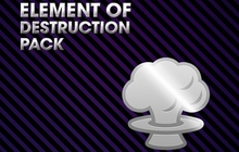 Saints Row IV - Element of Destruction Pack Badge