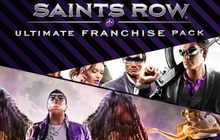 Saints Row Ultimate Franchise Pack Badge