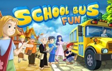School Bus Fun Badge