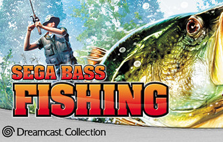 Sega bass fishing for Bass pro shop fishing games