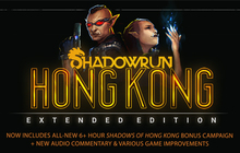Shadowrun: Hong Kong - Extended Edition Badge