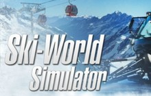 Ski-World Simulator Badge