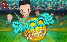 Smoots World Cup Tennis Badge