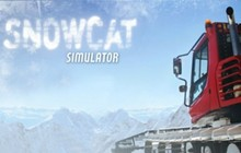 Snowcat Simulator Badge