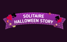 Solitaire Halloween Story Badge