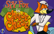Spy Fox in Cheese Chase Badge