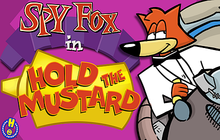 Spy Fox in Hold The Mustard Badge