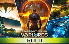 Starpoint Gemini Warlords Gold Pack Badge