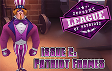 Supreme League of Patriots - Issue 2: Patriot Frames Badge