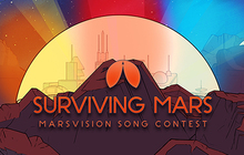 Surviving Mars: Marsvision Song Contest Badge