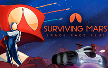 Surviving Mars: Space Race Plus Badge