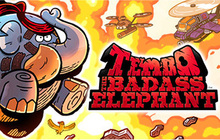 TEMBO THE BADASS ELEPHANT Badge