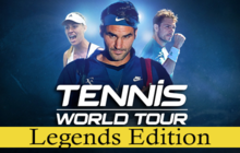 Tennis World Tour Legends Edition Badge